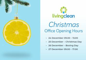 living clean christmas opening times
