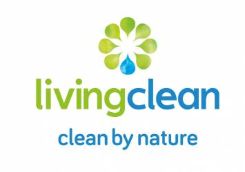logo for living clean