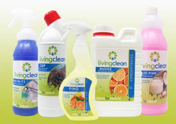 our environmentally friendly cleaning products